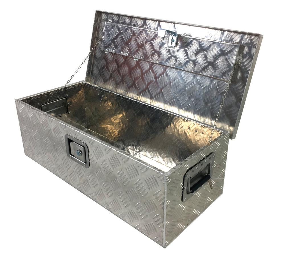 TS - TOOLBOX - Darba piederumu kaste alumīnija