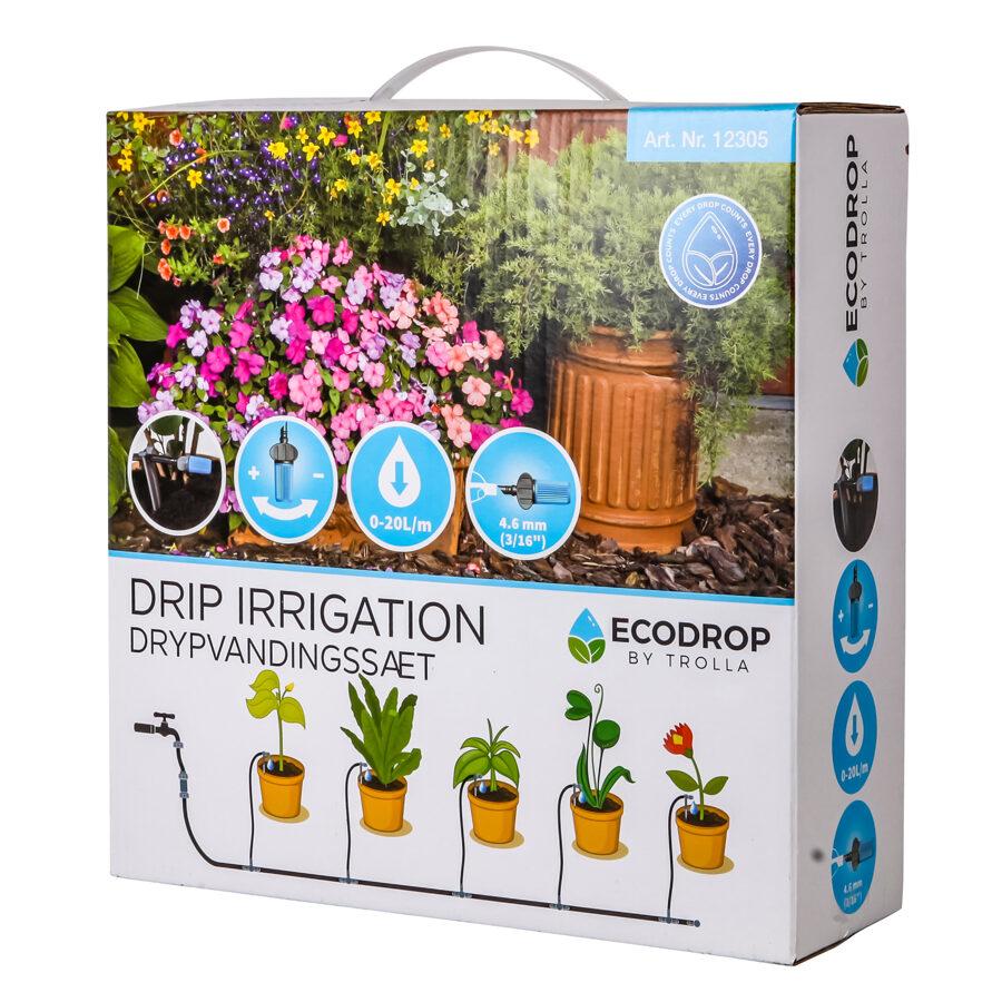 Pilienveida laistīšanas sistēma 1-5 Ecodrop