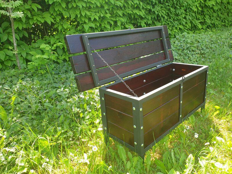 Krēsls ar kasti MARS
