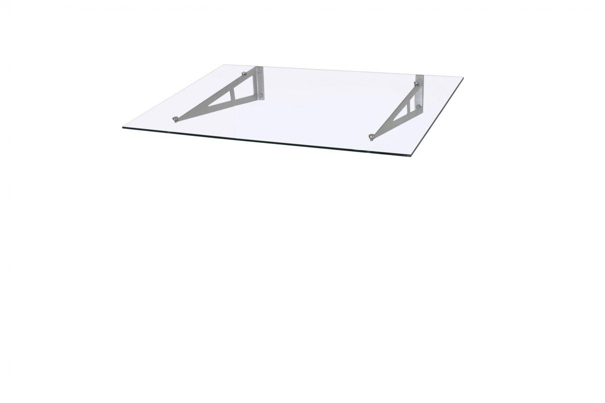 REBECCA Durvju jumtiņš 1200 mm stikla