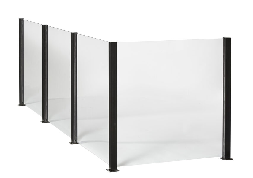 """Smart Fence - caurspīdīga stikla plāksne """"125.modulis"""""""