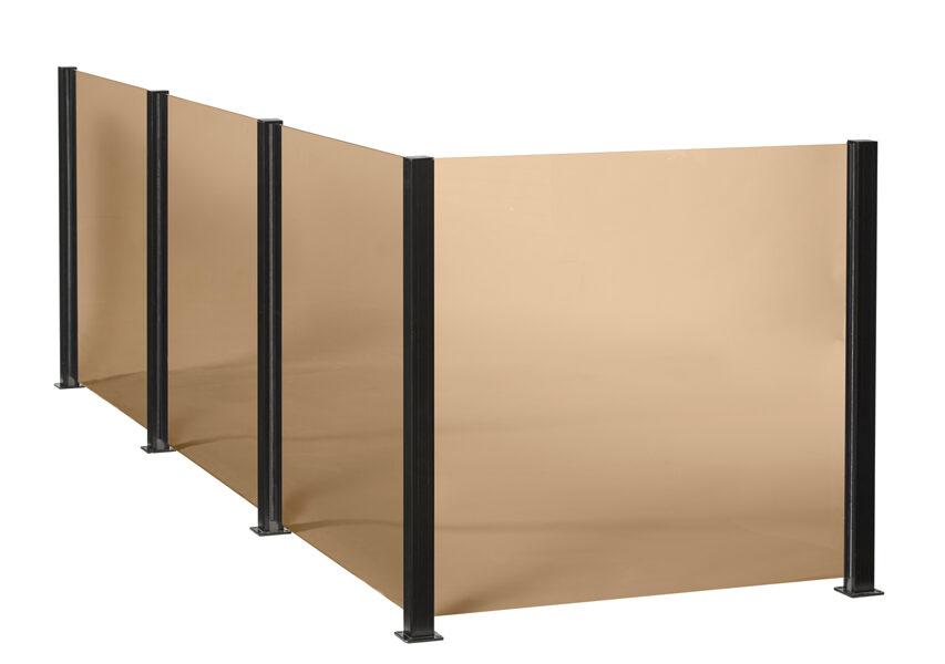 """Smart Fence - tonēta stikla plāksne """"125.modulis"""""""