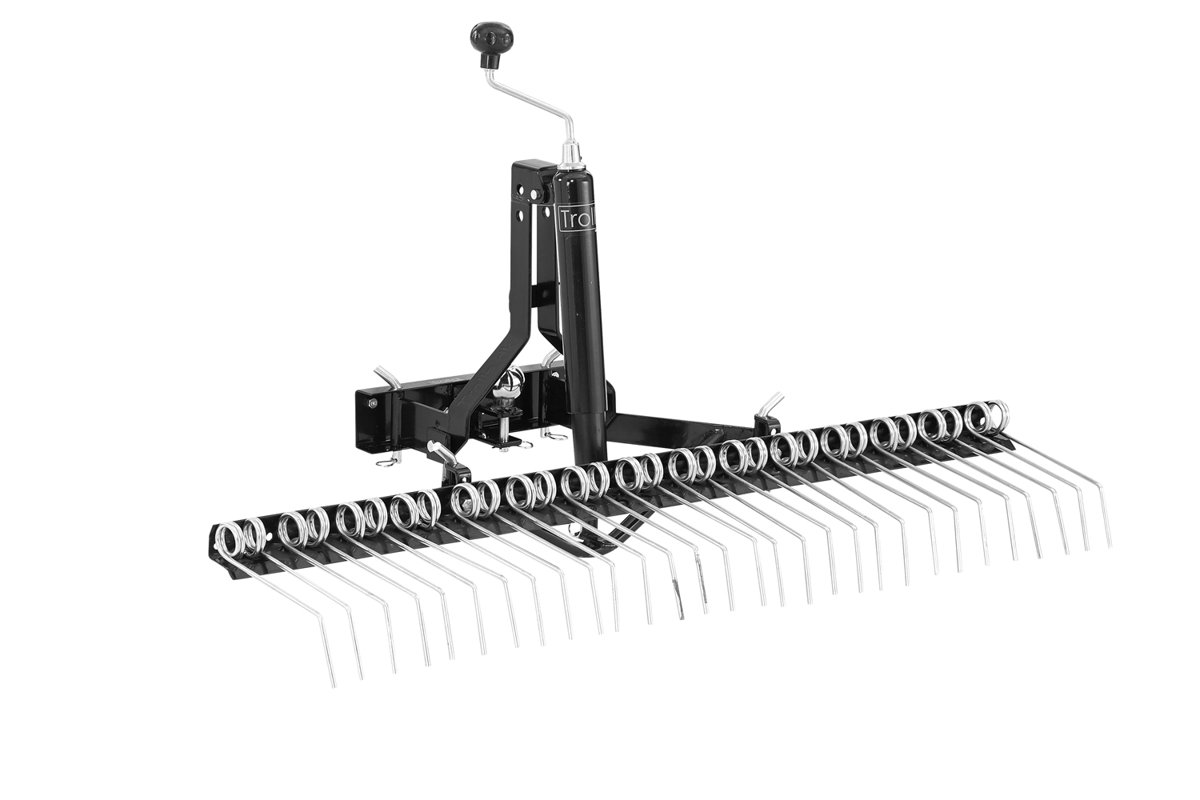 TS - Start package - Yard rake with spindle