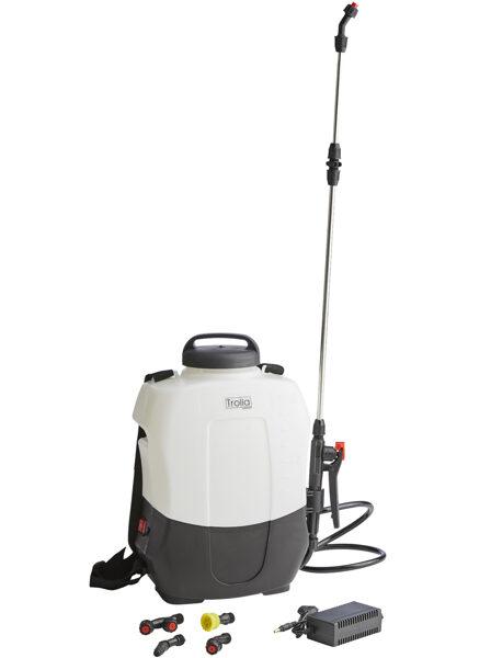 8 l elektriskais muguras smidzinātājs miglotājs ar litija jonu akumulatoru