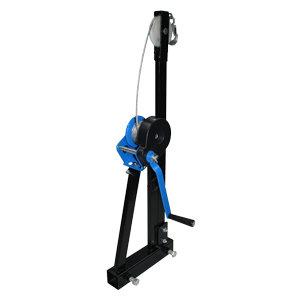 Crane for ATV wagon