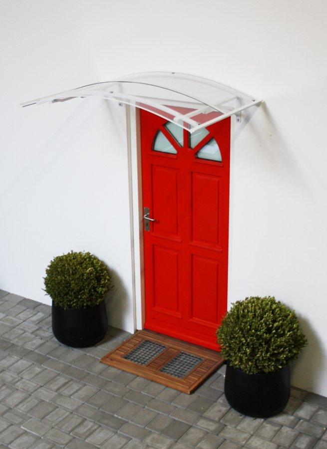 SARAH durvju jumtiņš 1400 mm. Baltā krāsā.