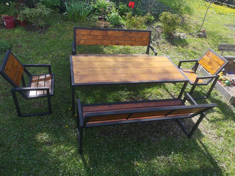 Dārza galda komplekts XXL PURE